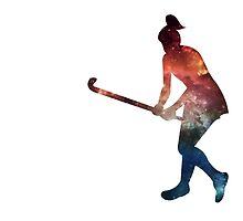 Galactic Field Hockey Girl by kaelynnmara