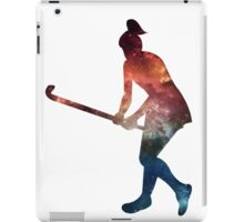 Galactic Field Hockey Girl iPad Case/Skin