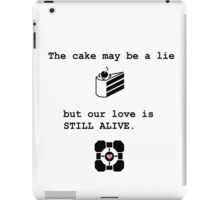 Portal Love (1) iPad Case/Skin