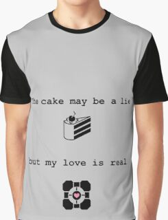 Portal Love (2) Graphic T-Shirt