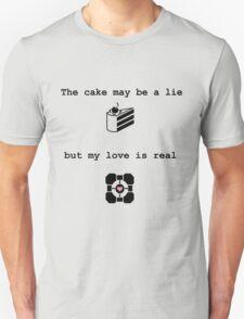 Portal Love (2) Unisex T-Shirt