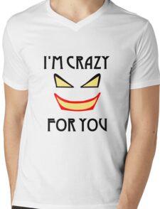 Joker love Mens V-Neck T-Shirt