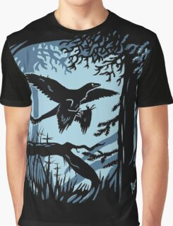 Frosty Microraptor Graphic T-Shirt