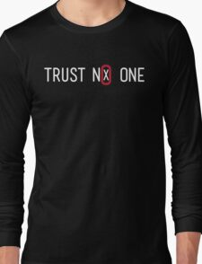 Trust No One Long Sleeve T-Shirt