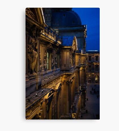 The Louvre - a Royal Palace, a Museum, an Architectural Marvel Canvas Print