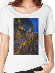The Louvre - a Royal Palace, a Museum, an Architectural Marvel Women's Relaxed Fit T-Shirt
