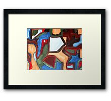 ABSTRACT 445 Framed Print