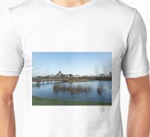 Blue hour on a golf course Unisex T-Shirt