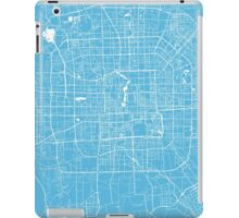 Beijing map blue iPad Case/Skin