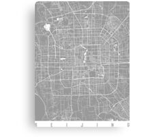 Beijing map grey Canvas Print