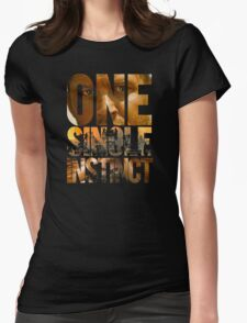 One Single Instinct Womens Fitted T-Shirt