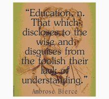 Education - Bierce Kids Tee