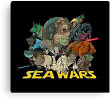 SEA WARS! Canvas Print