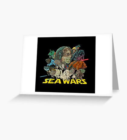 SEA WARS! Greeting Card
