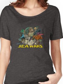 SEA WARS! Women's Relaxed Fit T-Shirt