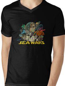 SEA WARS! Mens V-Neck T-Shirt