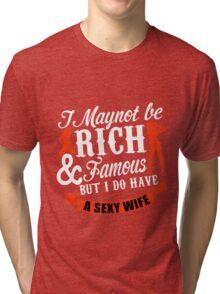 wife Tri-blend T-Shirt
