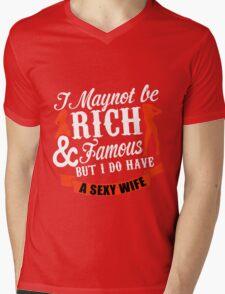 wife Mens V-Neck T-Shirt