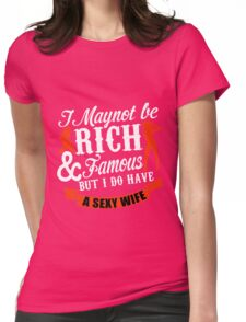 wife Womens Fitted T-Shirt