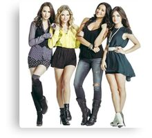 Pretty Little Liars Canvas Print