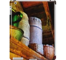 Baskets and Barrels in Attic iPad Case/Skin