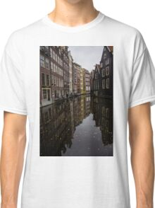 Amsterdam - Serene Fall Reflections Classic T-Shirt