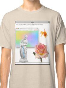 Rose vaporwave Aesthetics Classic T-Shirt