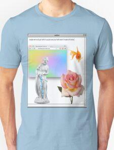 Rose vaporwave Aesthetics T-Shirt
