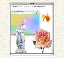 Rose vaporwave Aesthetics Pullover