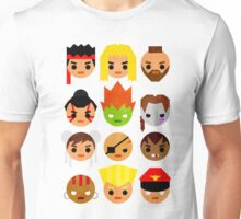 Street Fighter 2 Mini Unisex T-Shirt