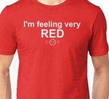 Feelings: Red Unisex T-Shirt