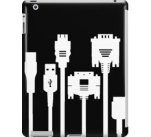 White Cables iPad Case/Skin