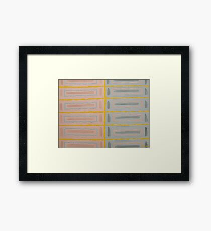 ABSTRACT 413 Framed Print