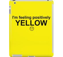 Feelings: Yellow iPad Case/Skin