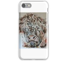 highland coo! iPhone Case/Skin