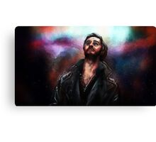 Decide What Man You Want to Be Canvas Print