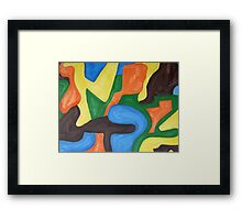 ABSTRACT 456 Framed Print