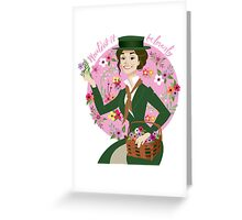 Eliza Doolittle Greeting Card