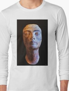 Unfinished Nefertiti Long Sleeve T-Shirt