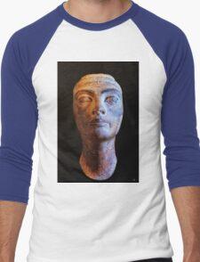 Unfinished Nefertiti Men's Baseball ¾ T-Shirt