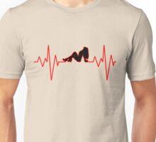 heartbeat girl Unisex T-Shirt