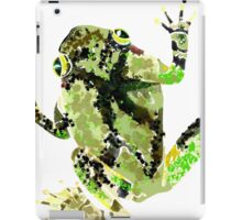 Gray Tree Frog iPad Case/Skin