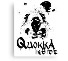 Quokka Inside Canvas Print