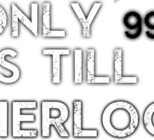 Sherlock NEW Series Countdown Sticker