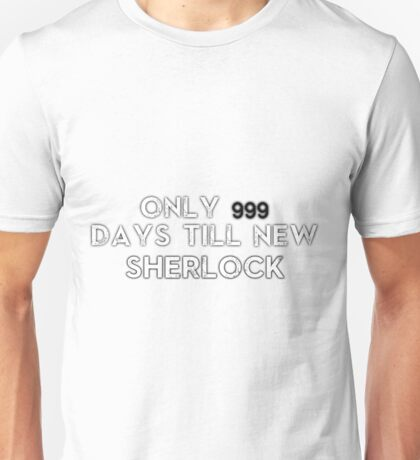 Sherlock NEW Series Countdown Unisex T-Shirt