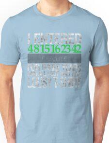 4 8 15 16 23 42 EXECUTE Unisex T-Shirt