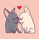 Frenchie Kiss by Huebucket