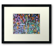 ABSTRACT 430 Framed Print