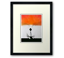 Meditation Abstract 4 Framed Print