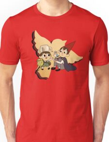 Over the Garden Wall red Unisex T-Shirt